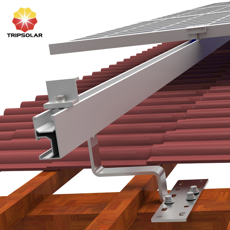 Pitched Tile Roof Mounting