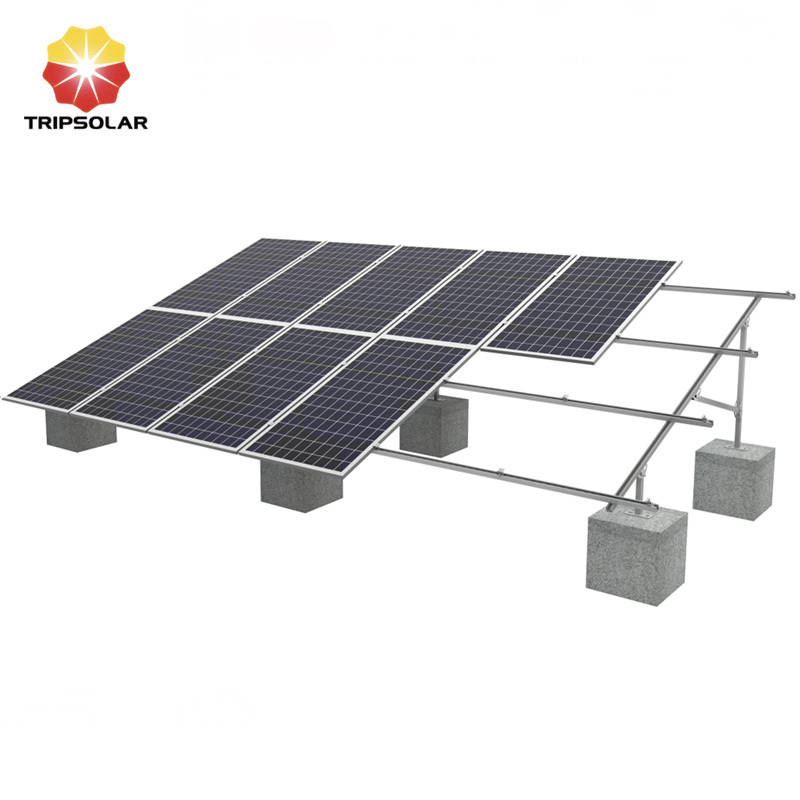 Tripsolar C Channel Steel Ground Solar Panel Mounting Brackets