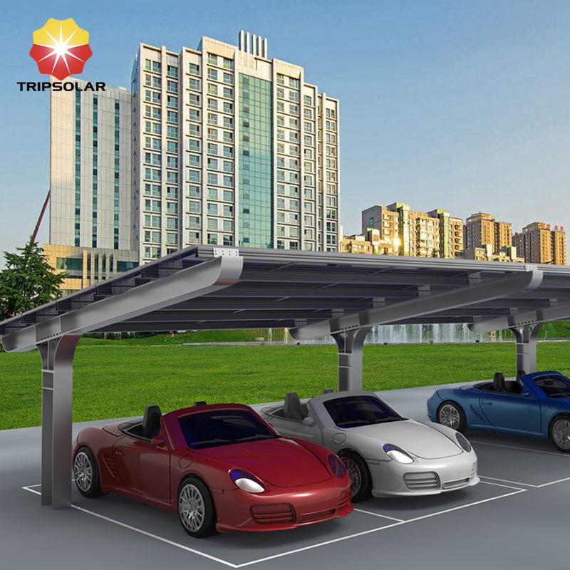 Tripsolar Steel Solar Carport Mounting