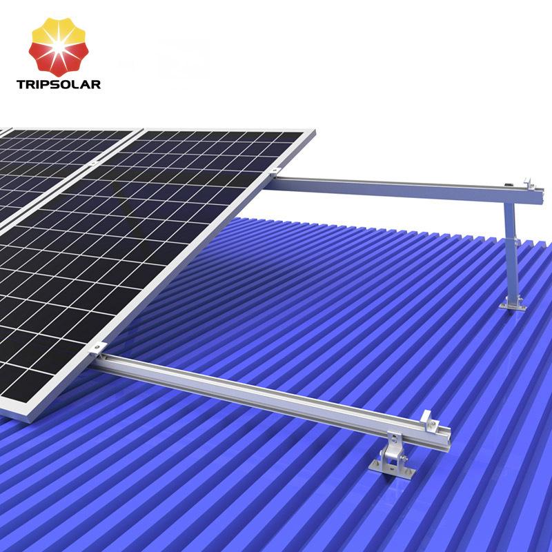 Tripsolar Adjustable Metal Roof Mounting