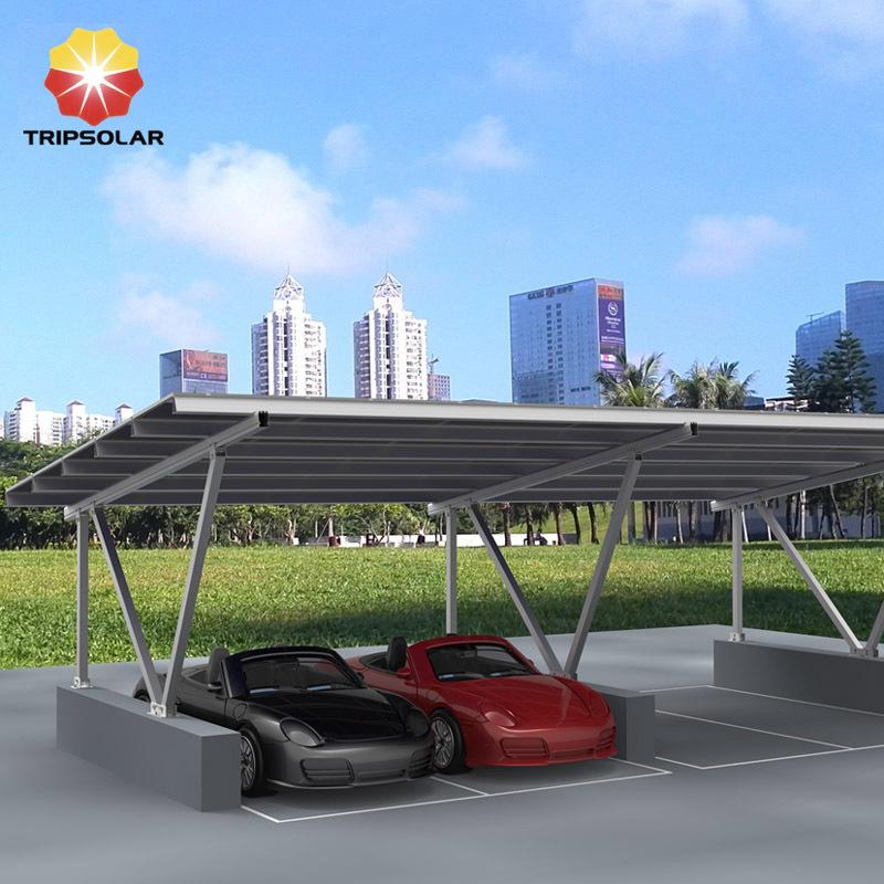 Tripsolar Aluminum Solar Carport Mounting