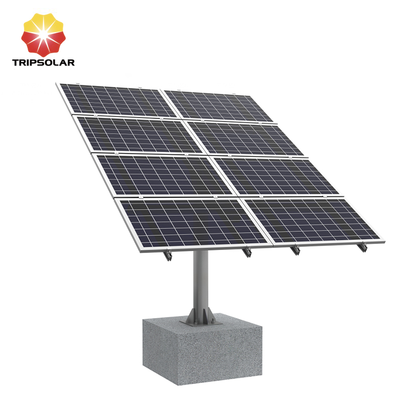 Tripsolar Multi Solar Panels Pole Mounting Brackets