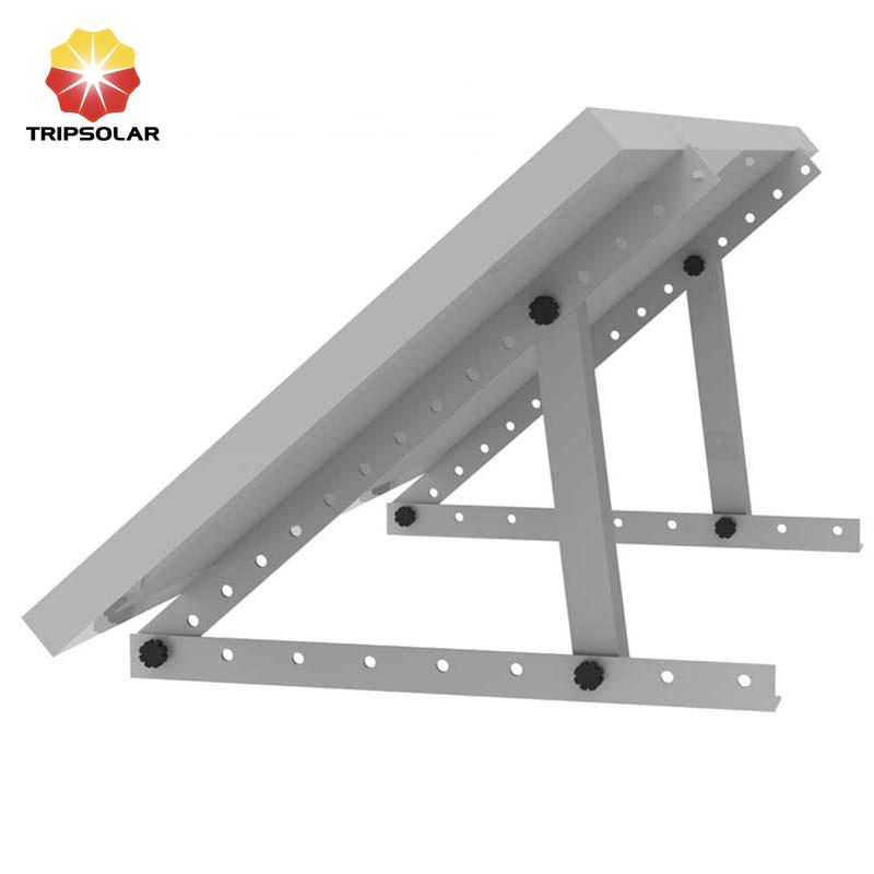 Tripsolar Adjustable Triangle Solar Panel Mounting Brackets