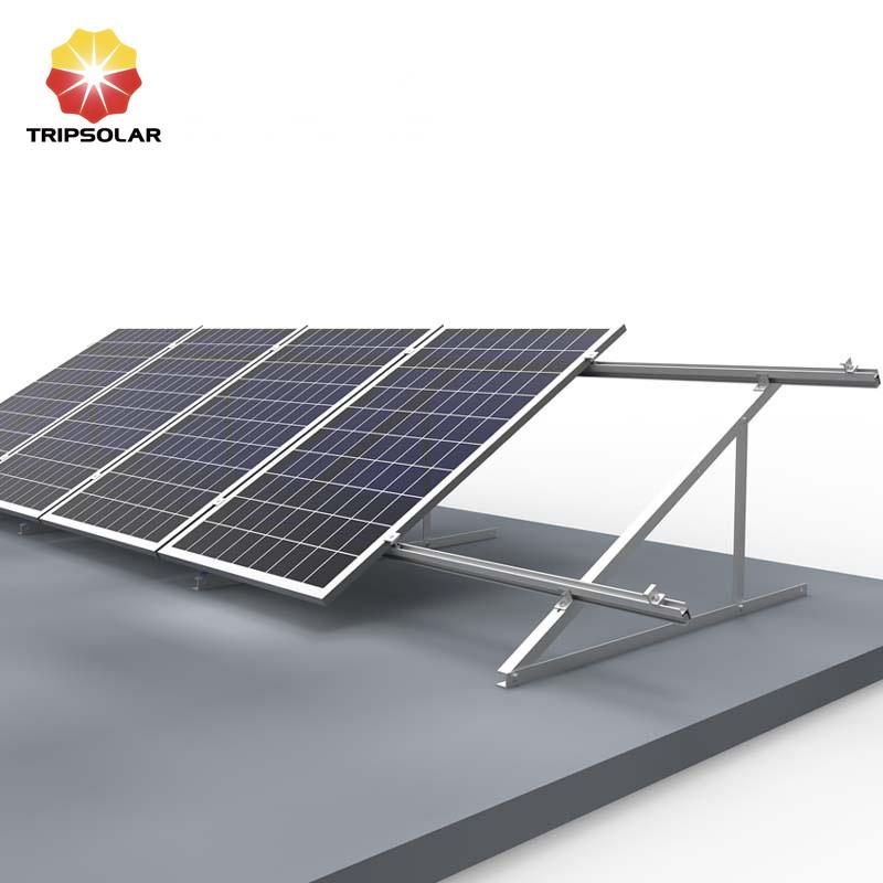 Tripsolar Alu Triangle Flat Roof Solar Mounting