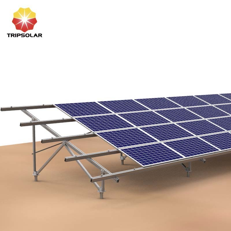 Tripsolar Aluminum Ground Solar Panel Mounting Brackets
