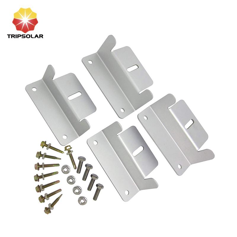 Tripsolar Aluminum Z-shape Bracket for RV, Caravan