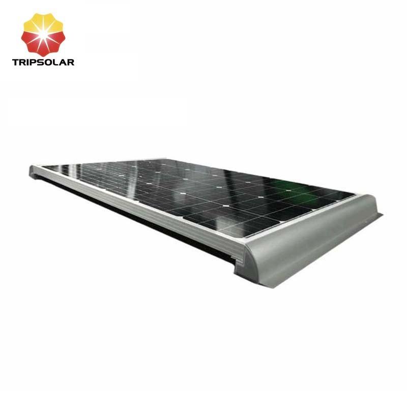 Tripsolar Longer Side Solar Panel Mount Bracket Spoiler For Caravan