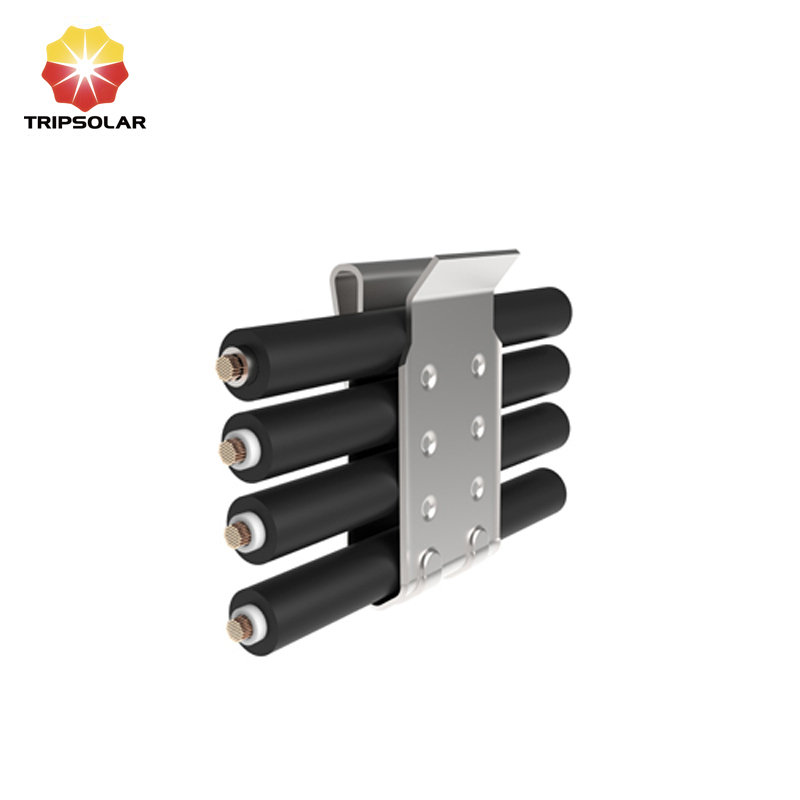 Tripsolar SUS304 Solar Cable Clips for Four Wires