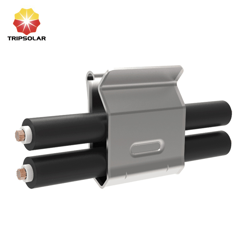 Tripsolar SUS304 Solar Cable Clips for Two Wires