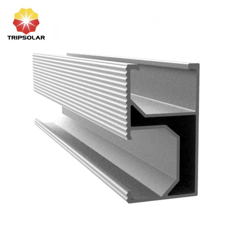 High Quality Solar Aluminum Rail For Solar Mounting