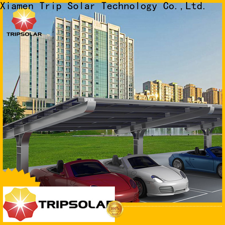 TripSolar Best solar power carport for business