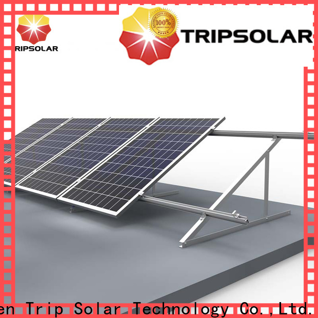 TripSolar Latest solar panel brackets for roof manufacturers