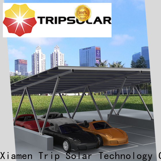 TripSolar Wholesale solar carport system Suppliers
