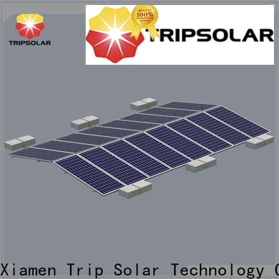 Latest solar panel flat roof mounting system factory