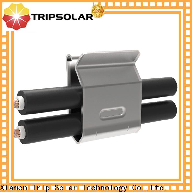 TripSolar Top mid clamp solar company
