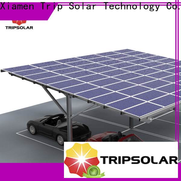 TripSolar solar panel carport roof factory