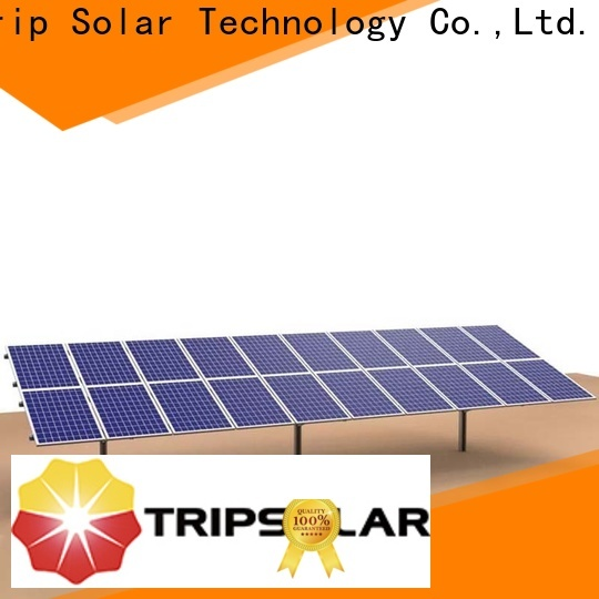 TripSolar ground mount solar racking systems company