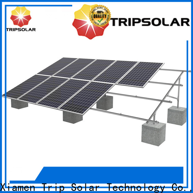 New solar ground mounting for business