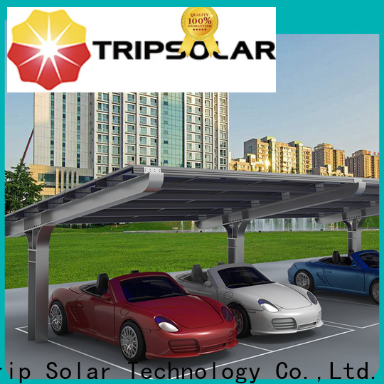 TripSolar Latest commercial solar carports manufacturers
