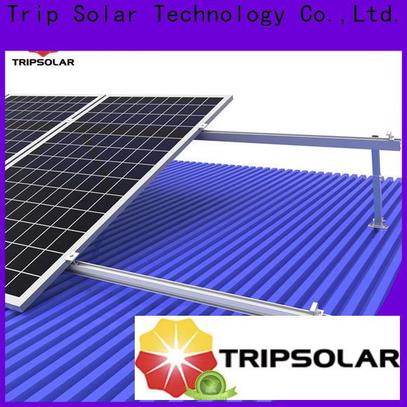 TripSolar High-quality roof mounting brackets for solar panels factory