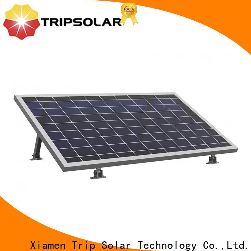 TripSolar rv solar panel mounts company
