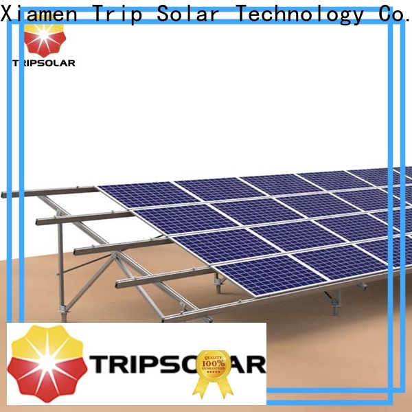 TripSolar solar ground mounting company