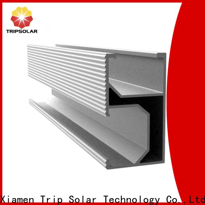 New aluminum solar rail manufacturers