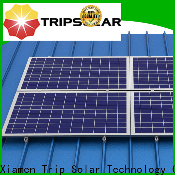 Top solar panel mounting brackets for metal roof Supply