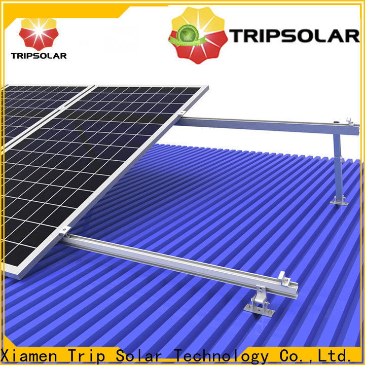 TripSolar roof mounting brackets for solar panels Suppliers