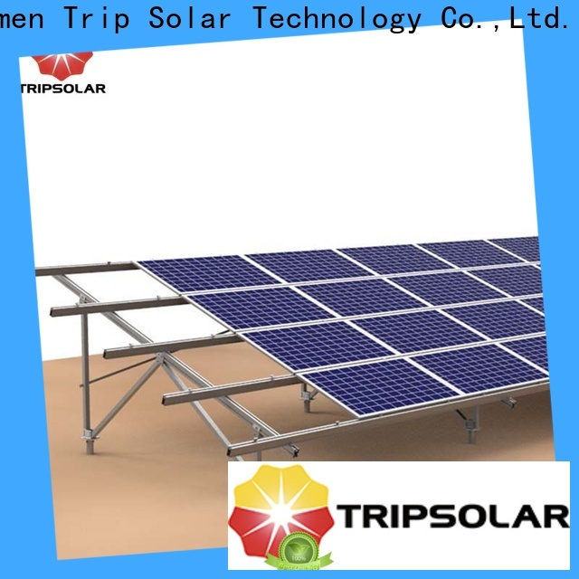 TripSolar Top solar panel ground mounting systems for business