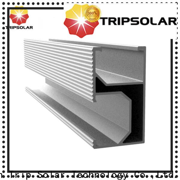 TripSolar Latest mid clamp solar factory