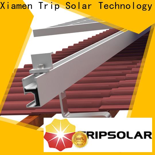 Top standing seam metal roof solar mount company