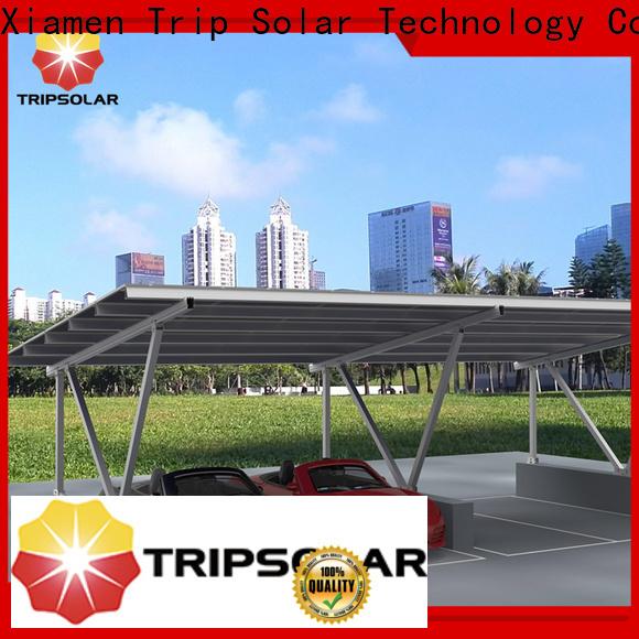 TripSolar solar car park canopy Suppliers