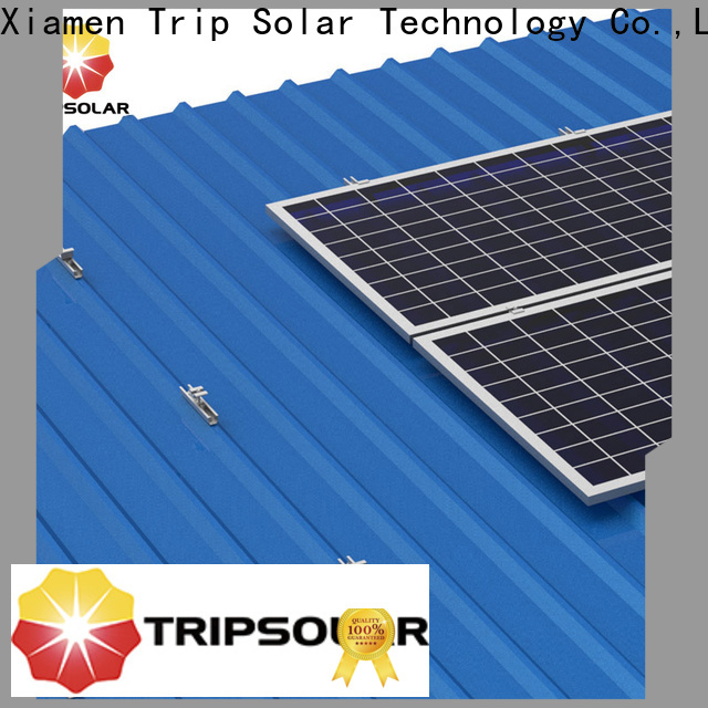 TripSolar Best roof solar panel mounting system company