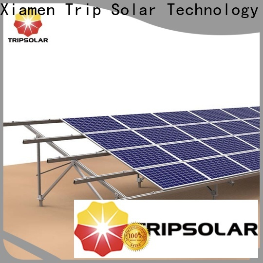 New ballasted ground mount solar racking manufacturers