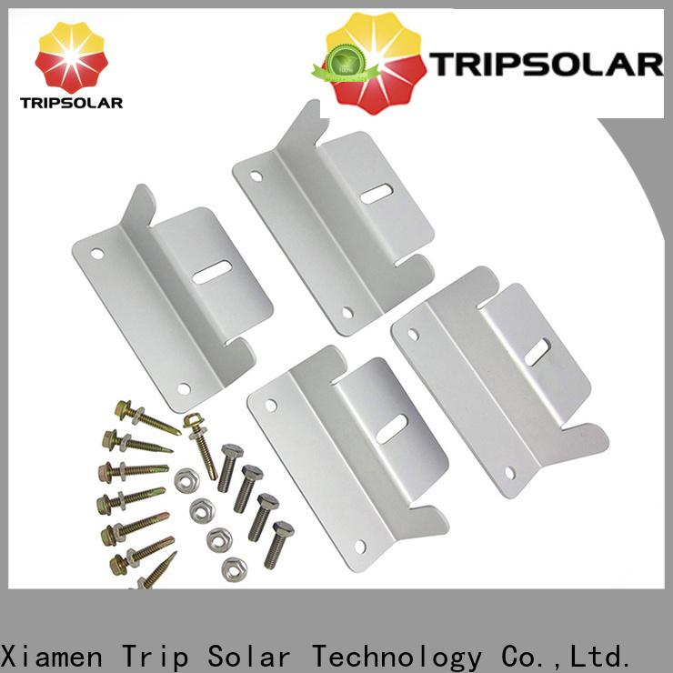 TripSolar Top solar panel brackets for rv factory