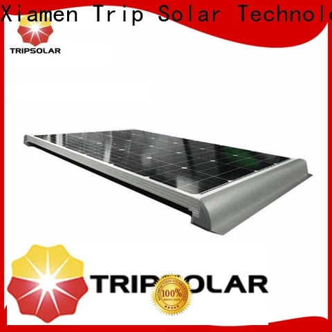 Top solar panel mounting stand for business