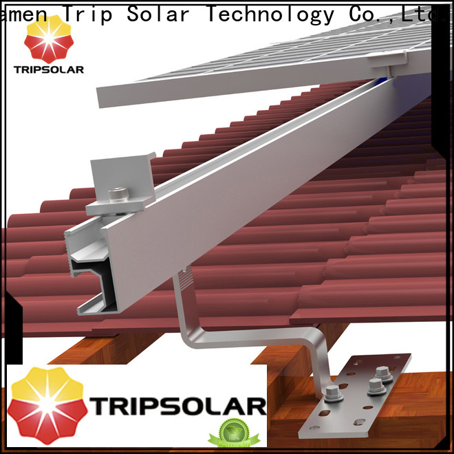 TripSolar High-quality flat roof solar mounting system for business