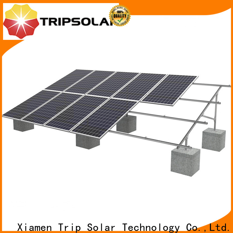 TripSolar solar panels on ground company