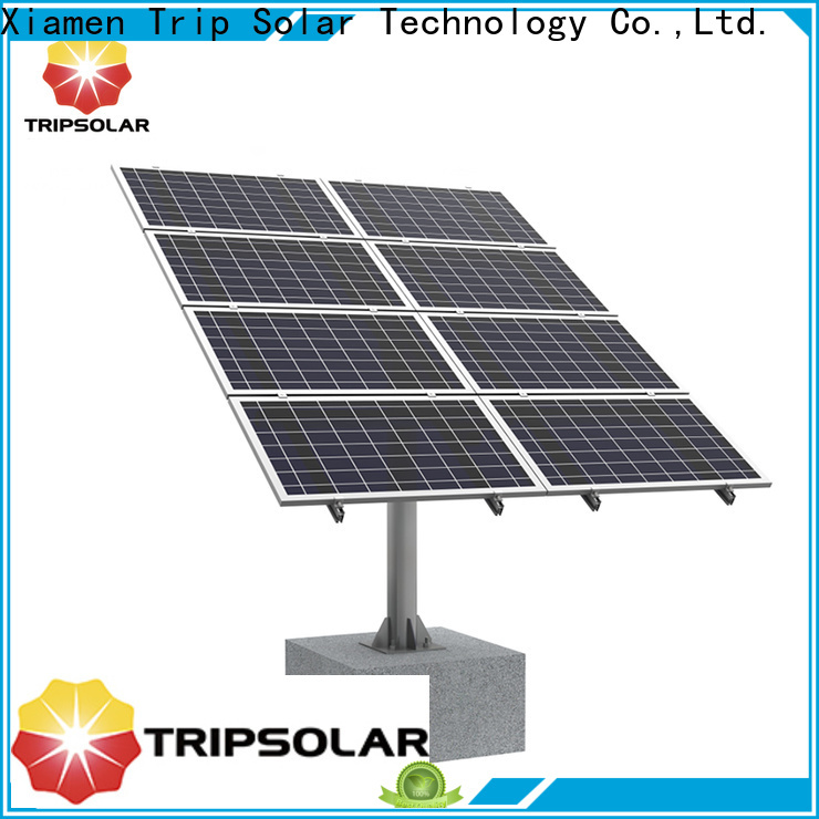 Latest ballasted ground mount solar racking for business
