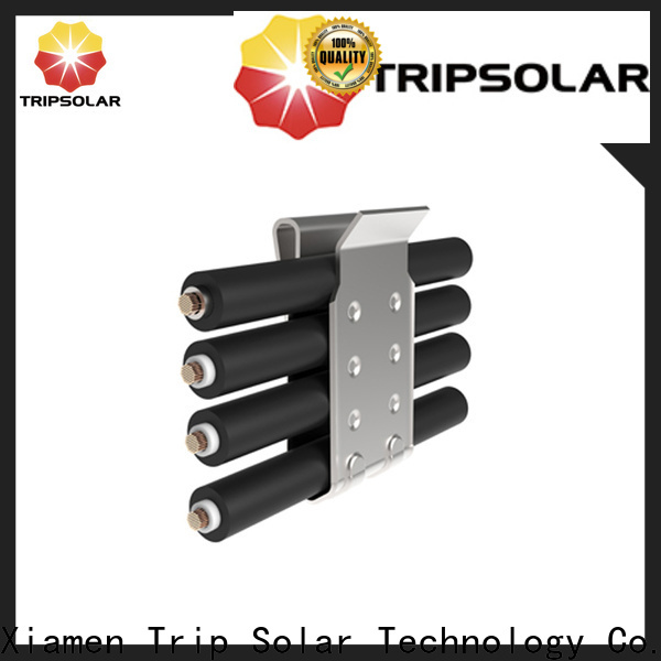 Top solar panel post mount for business