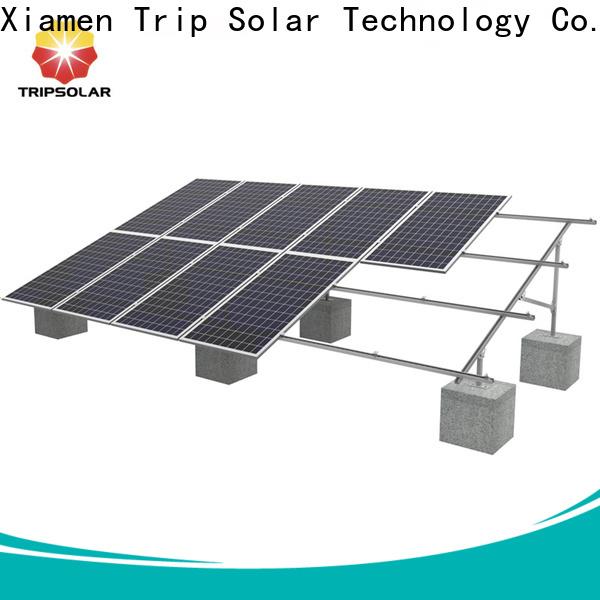 Custom ground solar mounting company