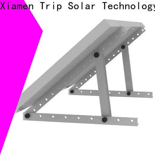 TripSolar flat roof solar mounting system company