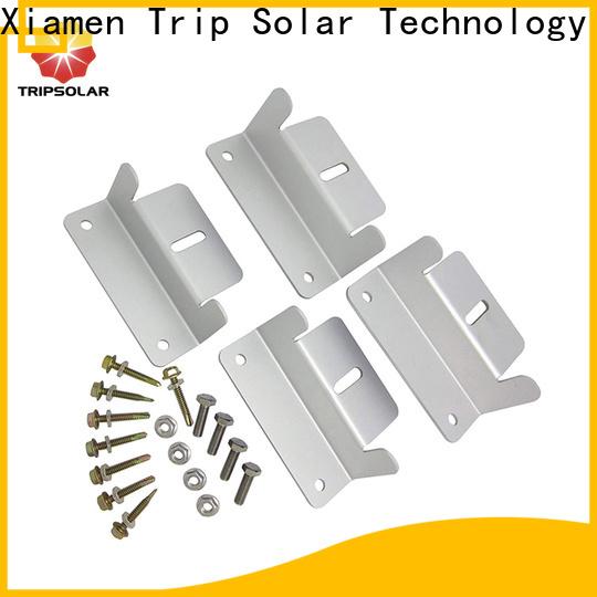 TripSolar solar panel brackets for rv company