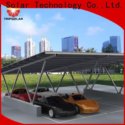TripSolar New solar panel carport residential Supply