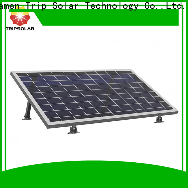 TripSolar Top rv solar panel mounting rails Supply