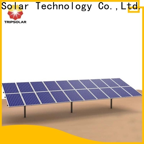 TripSolar solar panel ground mounts factory