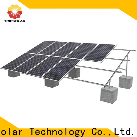 TripSolar ground mount for solar Suppliers