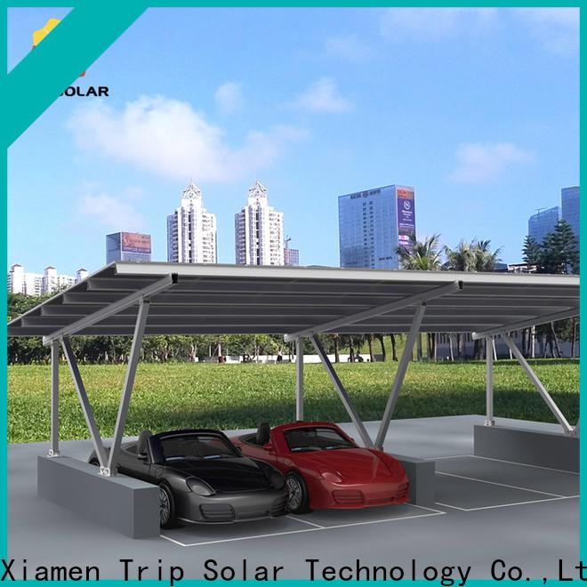 New solar carport mounting company