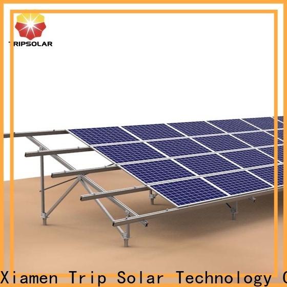 TripSolar Best ground mount solar racking manufacturers